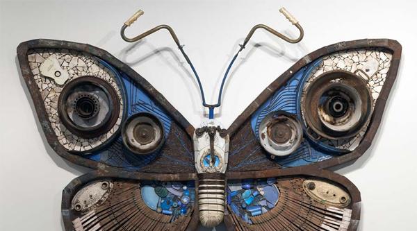 """Michelle Stitzlein oder """"Gefundene Schmetterlinge"""""""