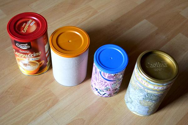 Getränkepulver-Dosen redesigned