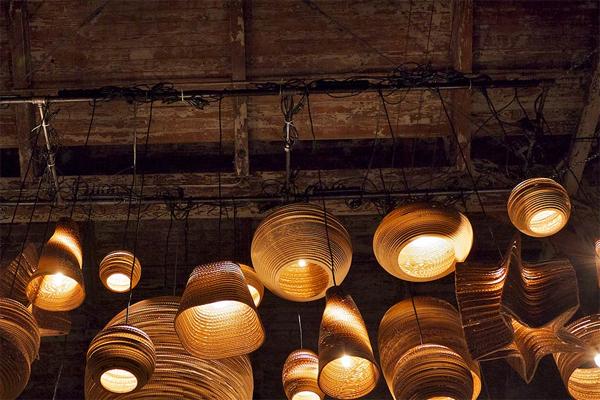 Papplampen
