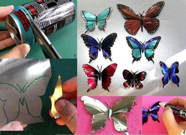 Deko-Schmetterlinge