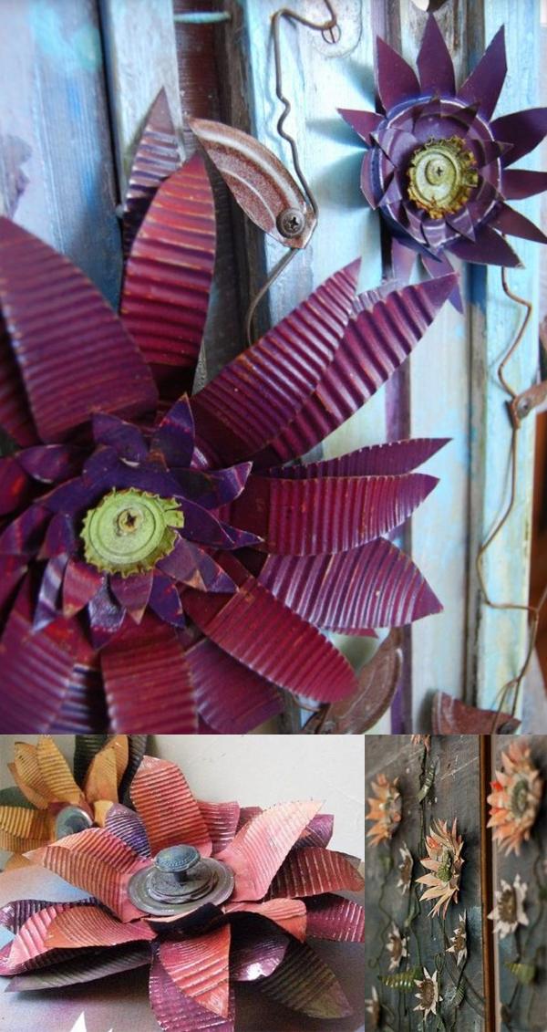 Blumen aus der Konserve