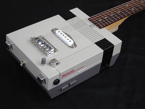 Nintendo NES Electric Guitar!