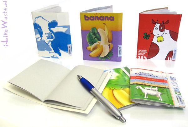 Notizbücher aus TetraPaks