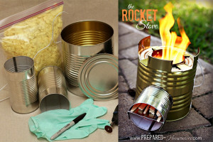 Der Recycling-Camping-Kocher