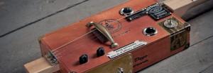 Zigarrenbox-Gitarre