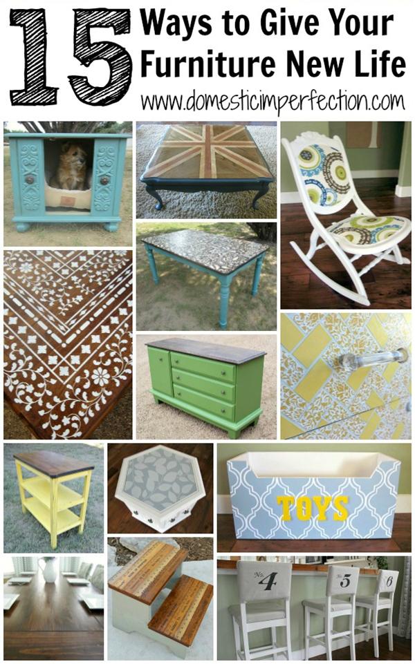 Neues Leben für alte Möbel
