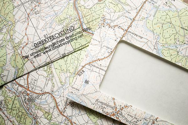 Umweltfreundliche Briefumschläge