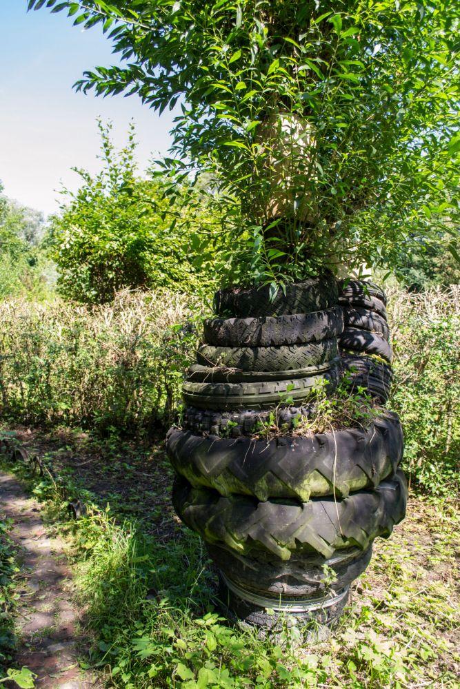 Der Recycling-Garten