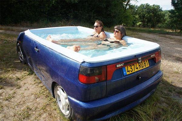 Mobiler pool gef llig need a mobile swimming pool for Pool aus plastik