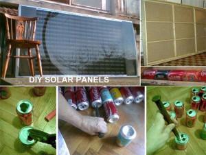Sonnenkollektor aus Alu-Dosen