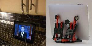 Ideen für Tablet-Halterungen