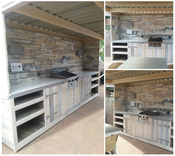 Outdoor KücheOutdoor kitchen » ReThink - Recycle! ReThink – Recycle!