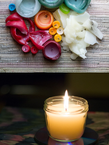 Kerzenreste wiederverwerten