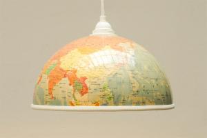 Globus Lampenschirm