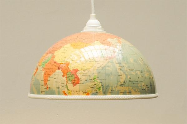 globus-lampenschirm