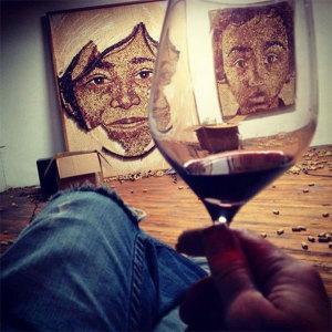 Portraits aus Weinkorken