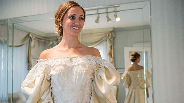 Wie oft wird schon ein Hochzeitskleid getragen?