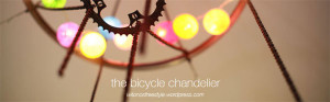 Fahrradteile-Kronleuchter
