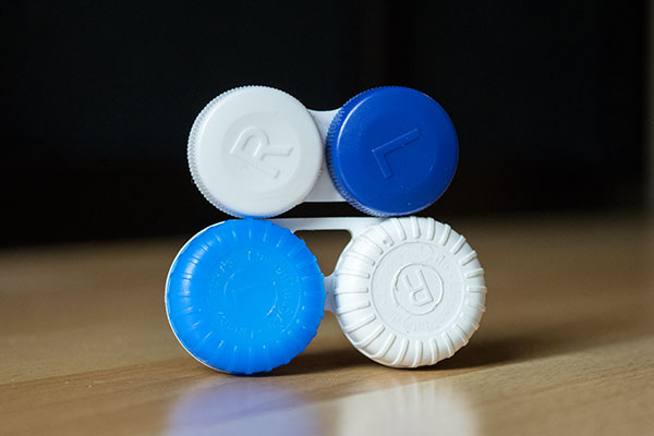 Kontaktlinsen-Behälter