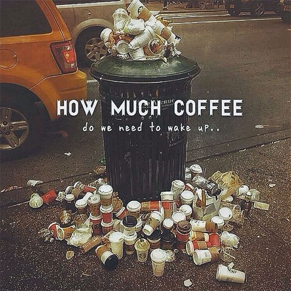 How much coffee do we need to wake up?