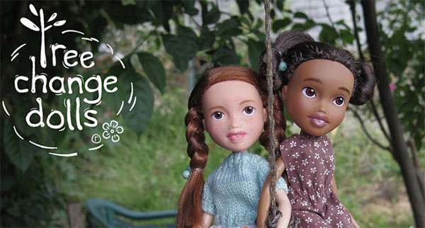 Tree Change Dolls - Barbie Recycling