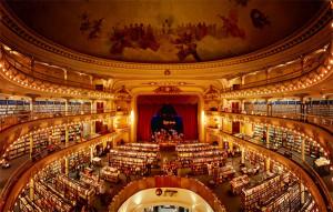 Vom Theater zum Buchladen