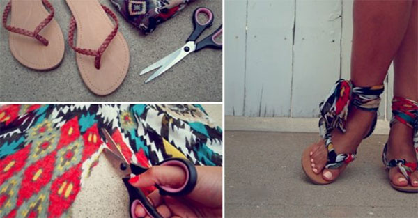 Flip Flop Upcycling