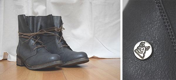 Schuhe aus PET-Recycling-Material
