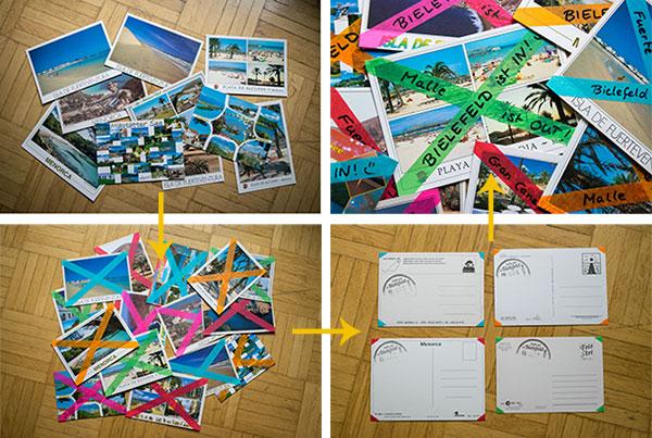 Urlaubszeit = Postkartenzeit