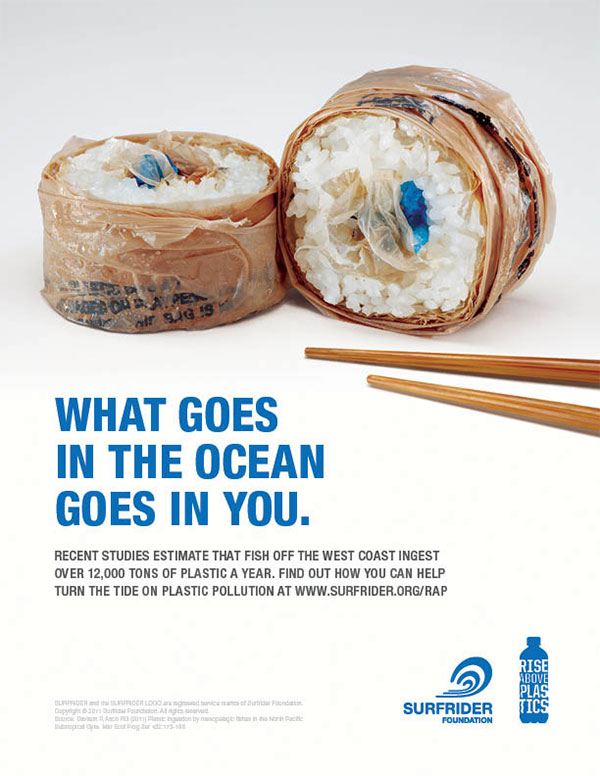 The ocean is turning into a plastic soup...