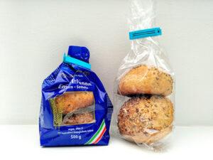 alternativer Verwendungszweck für Nudelverpackungen: Gefrierbeutel