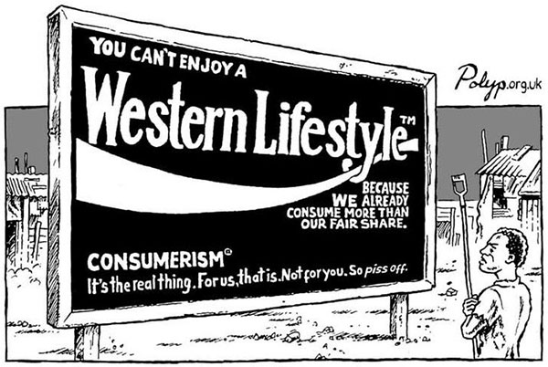 Advertising Western Lifestyle