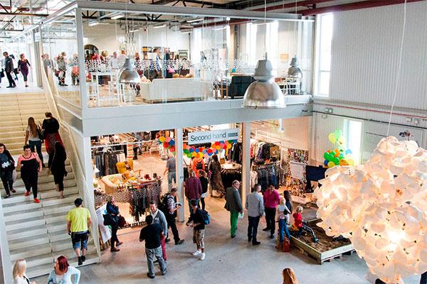 ReTuna – Recycling Shopping Center