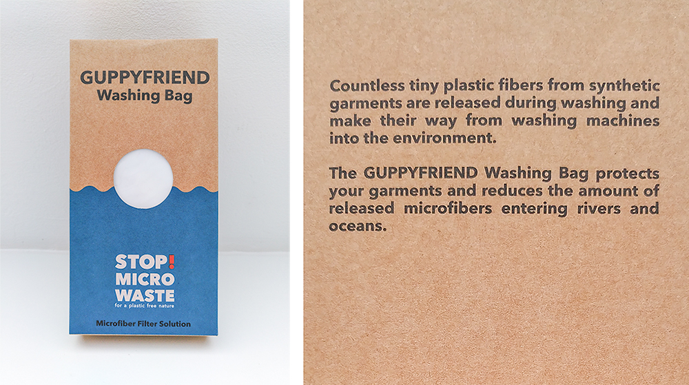 Verpackung des Guppyfriend Washing Bag - Stop Micro Waste!