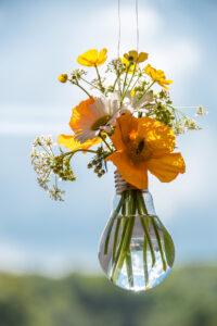Glühbirnen-Vase