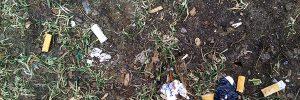 Umweltsünde Zigarettenfilter