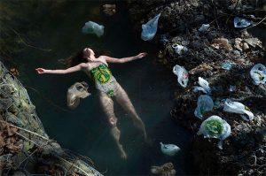 Plastic everywhere!