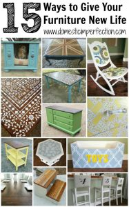 New life for old furniture