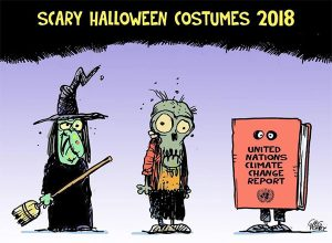 Cartoon by Greg Perry - Scary Halloween Costumes 2018