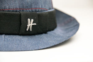 ReHats - Hut aus alter Arbeitskleidung