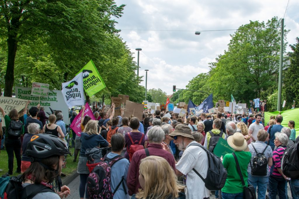 Foto: Fridays For Future - Demo in Bielefeld