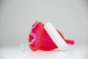 Tampon und Rubycup