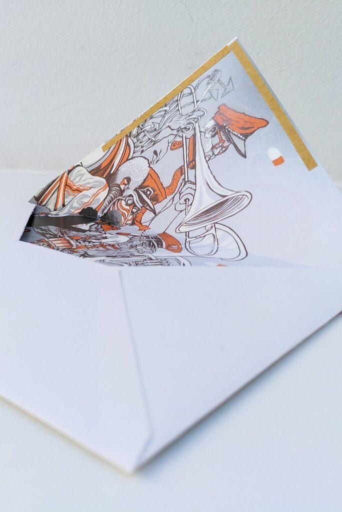 Briefumschlag selber basteln