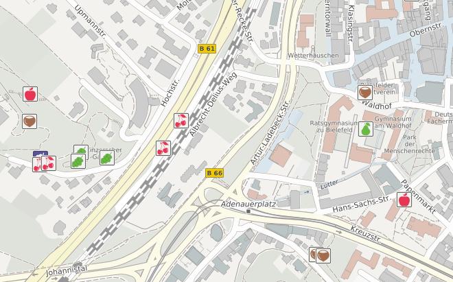 Stadtfrüchte Bielefeld