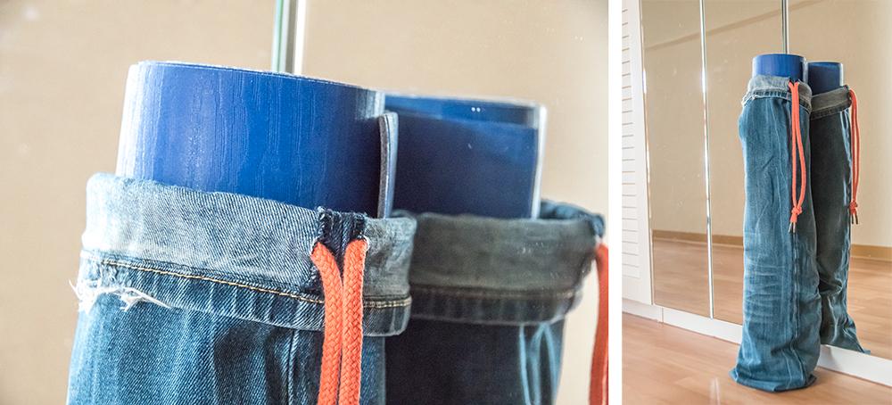 Alte Jeans upcyceln