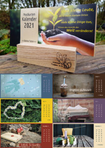 Der Kleine Taten Postkarten-Kalender 2021 ist da