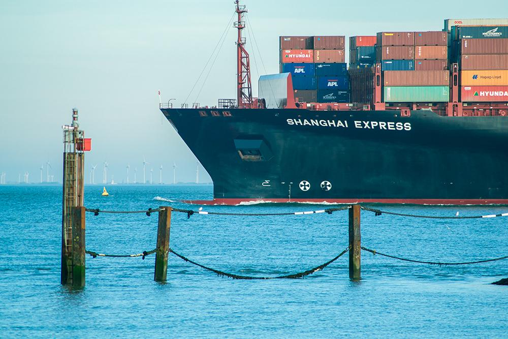 Jährlich landen über 1.400 Frachtcontainer im Meer