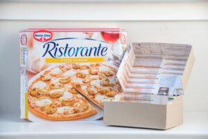 Die Pizzakarton-Versandbox