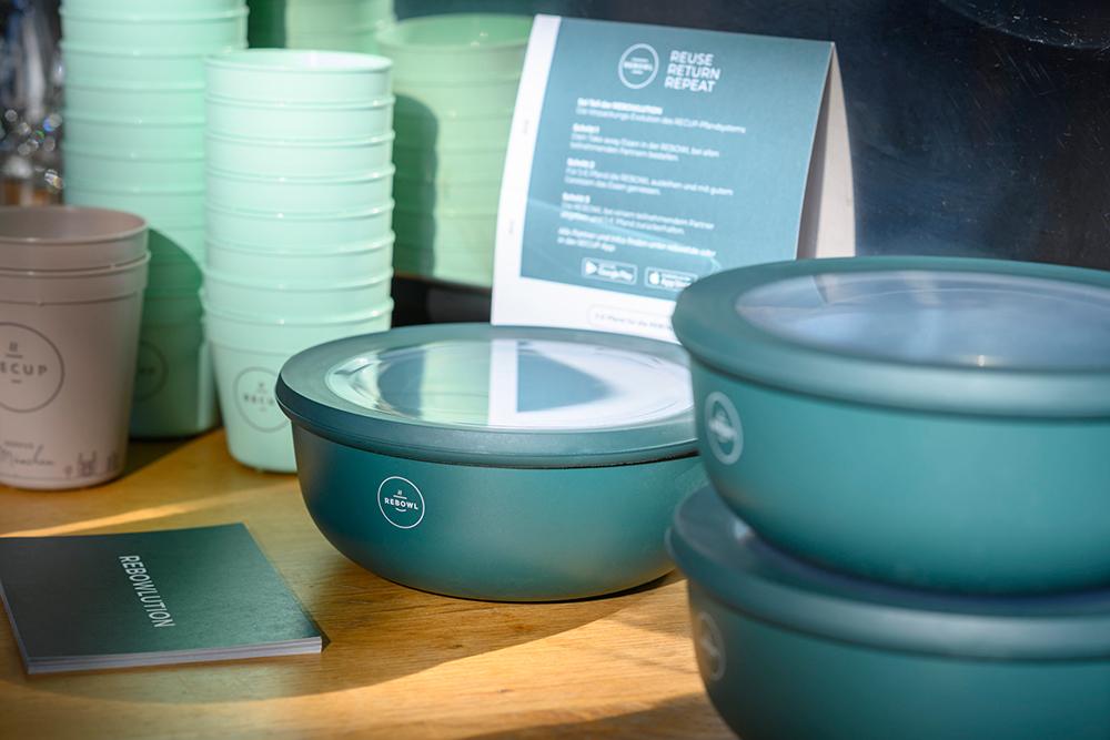 Rebowl - Pfandsystem für Take-Away-Food.